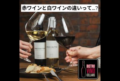 赤ワインと白ワインの違いって...?