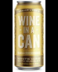 ワイン・イン・ア・カン 白ワインスパークリング